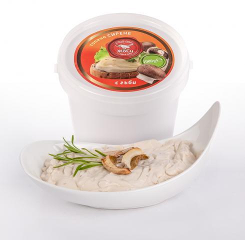 Топено сирене-Гъби ПВЦ опаковка