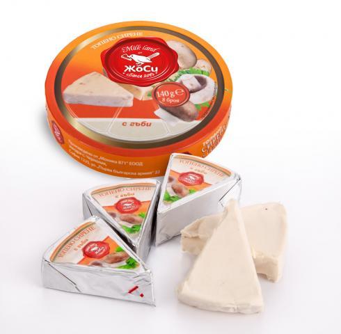 Секторно Топено сирене - Гъби
