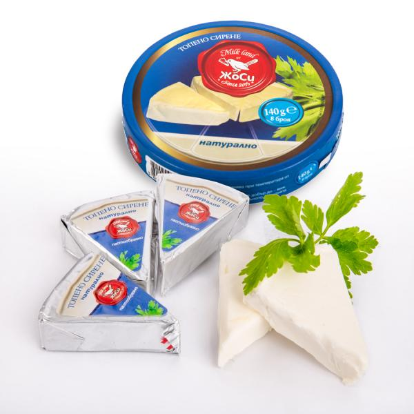 Секторно Топено сирене - Натурално