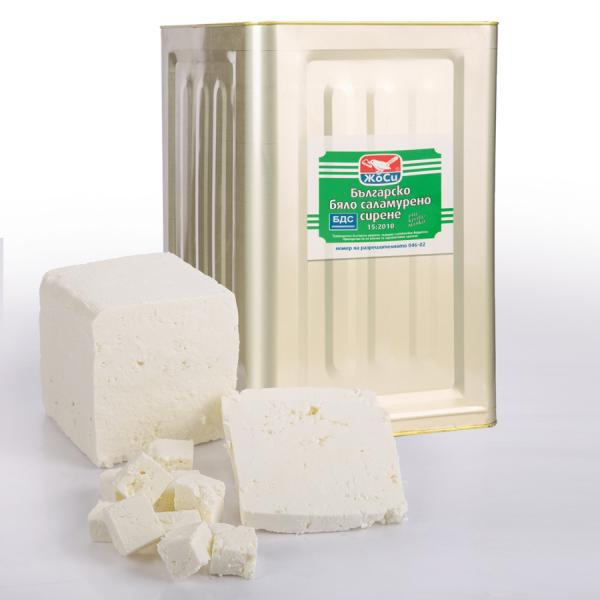 White brined cow cheese BDS