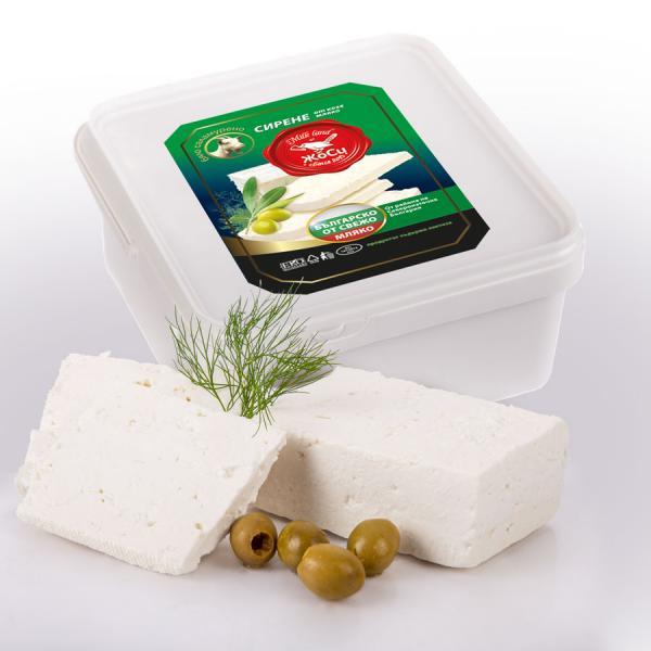 White brined goat cheese box