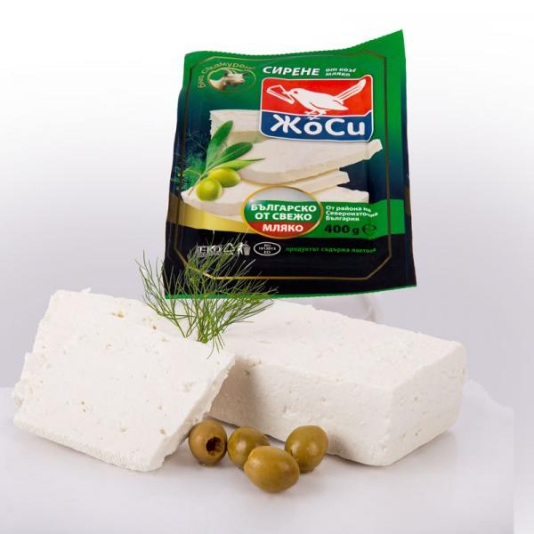 White brined goat cheese