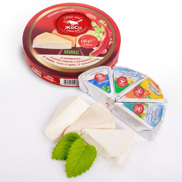 Секторно Топено сирене - Микс