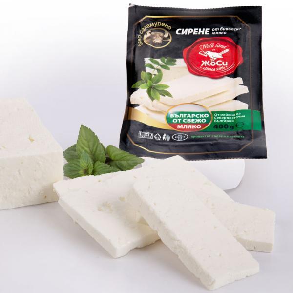 White brined buffalo cheese