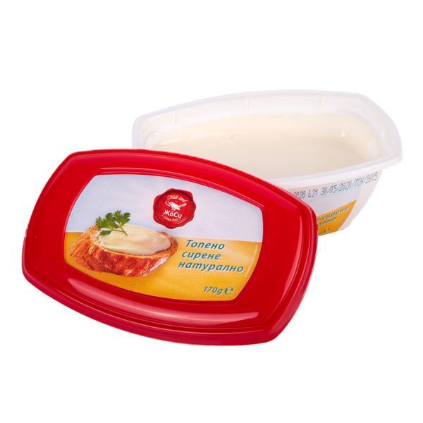 Топено сирене-Натурално ПВЦ опаковка